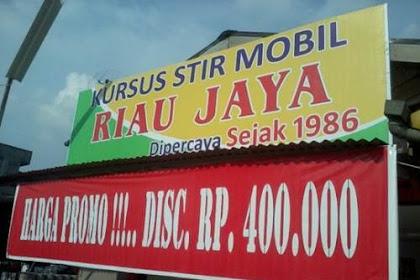 Lowongan Kerja Pekanbaru : Kursus Stir Mobil Riau Jaya November 2017
