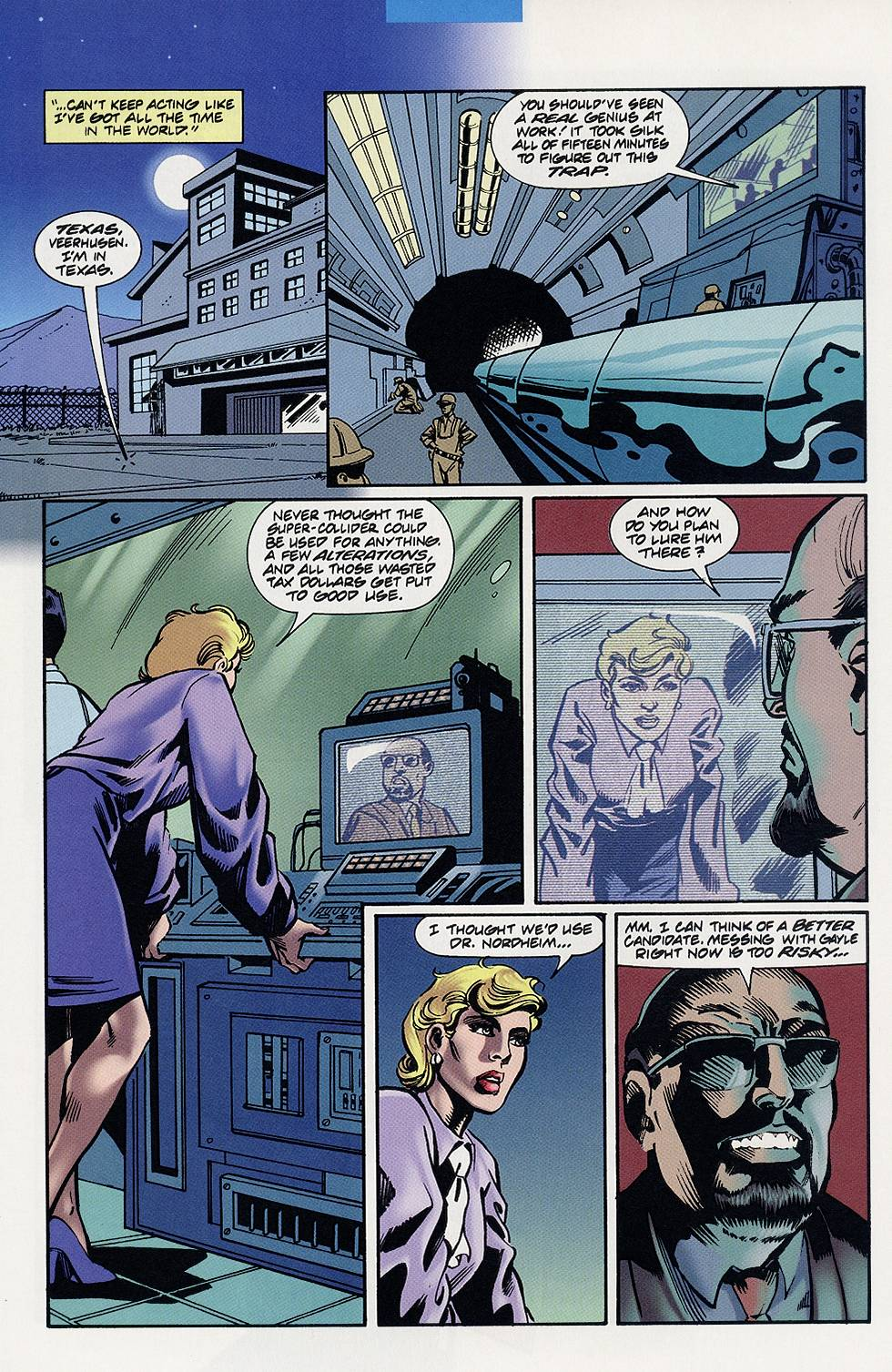 Read online Solar, Man of the Atom comic -  Issue #59 - 12
