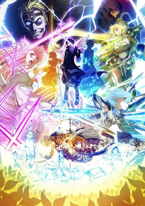 Plakat anime Sword Art Online: Alicization - War of Underworld 2nd Season