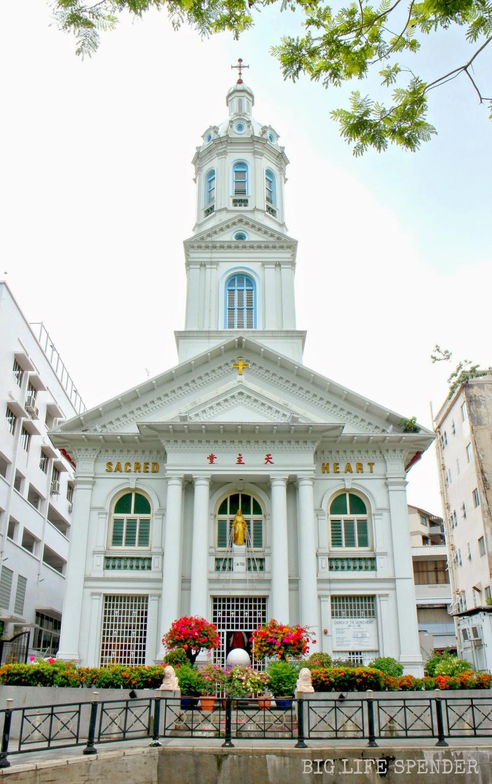 Big Life Spender My Top Scenic Catholic Churches In Singapore