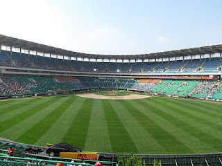 Center to home, Munhak Stadium