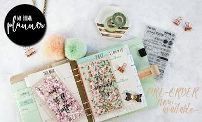 pre order my prima planner at a cherry on top crafts