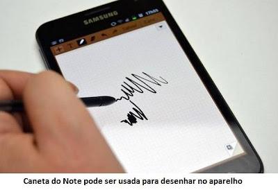 caneta do Galaxy Note