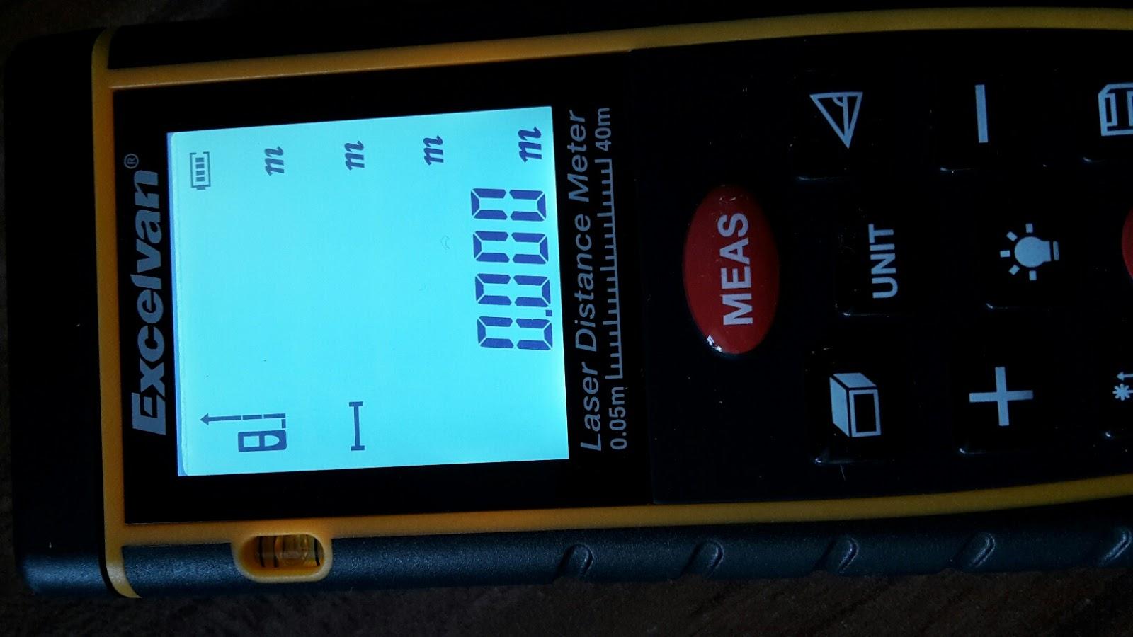 Laser Entfernungsmesser Floureon : Monas blog: excelvan® laser entfernungsmesser 0 05 40 m messbereich