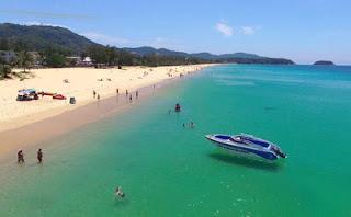 Карон красивый пляж