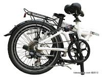 20 Inch FoldX Turbo 7005 Aluminium Alloy Frame with Suspension Folding Bike