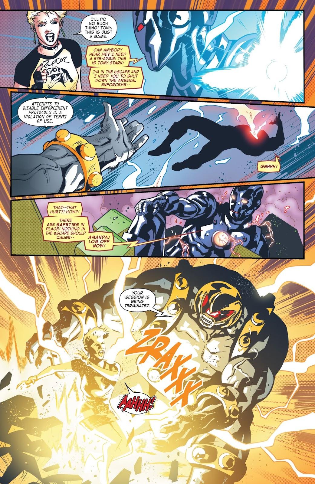 Read online Tony Stark: Iron Man comic -  Issue #6 - 19