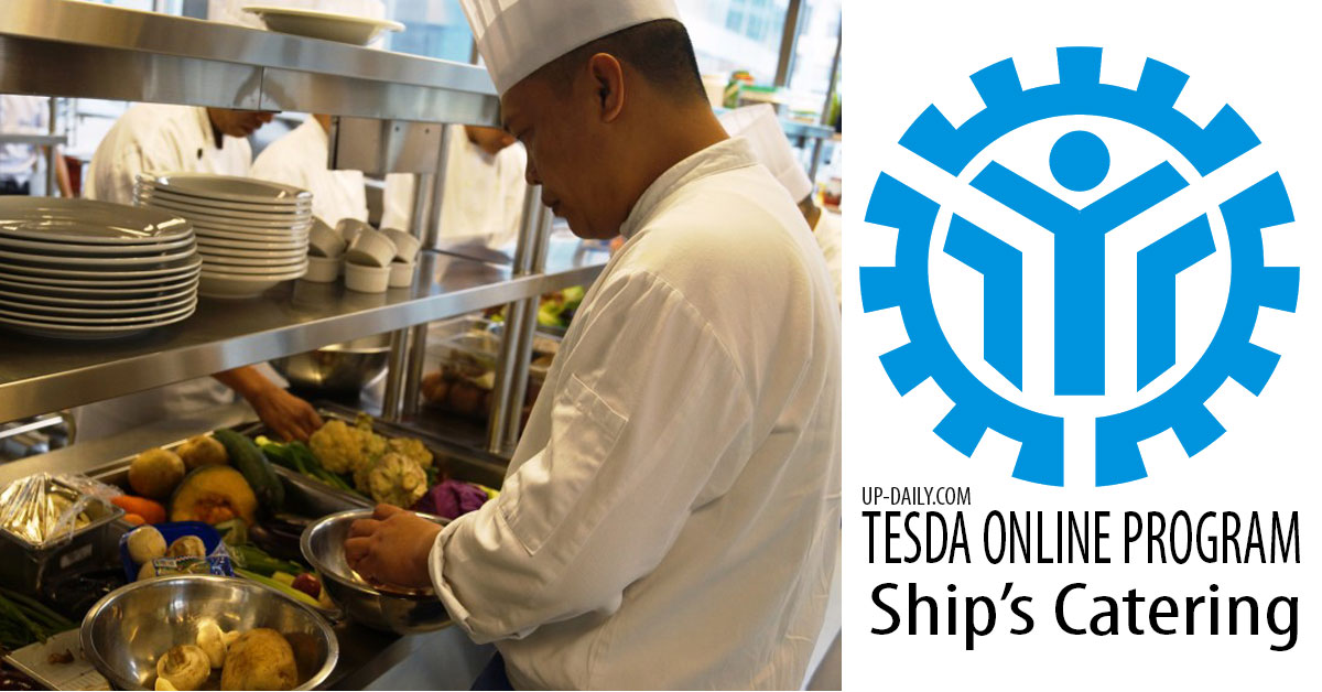 Learn Ship's Catering Free at Tesda Online Program