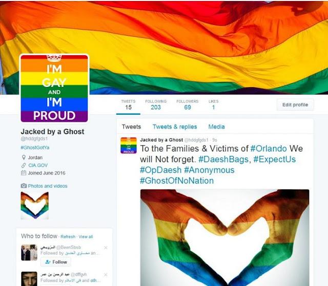 Anonimous vuelve gays las cuentas de Twitter de Isis