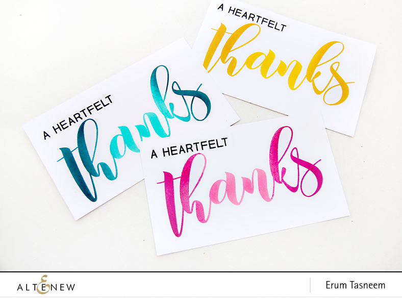 Altenew Mega Greetings Stamp Set | Erum Tasneem | @pr0digy0