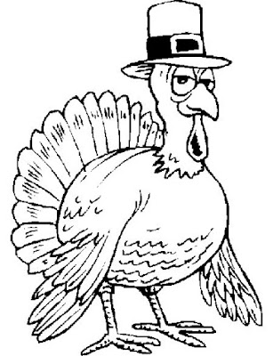 thanksgiving coloring pages of turkeys