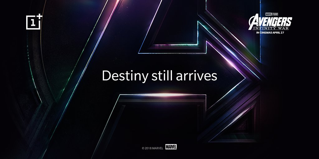 OnePlus Partners With Marvel Studios For Avengers-Themed OnePlus 6 In India