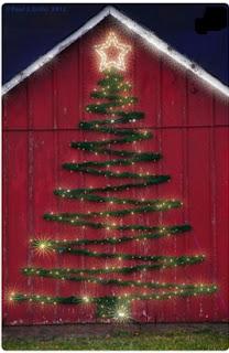 cómo decorar el exterior en navidad, como decorar la navidad en la parte de afuera de la casa, como decorar fuera de casa en navidad