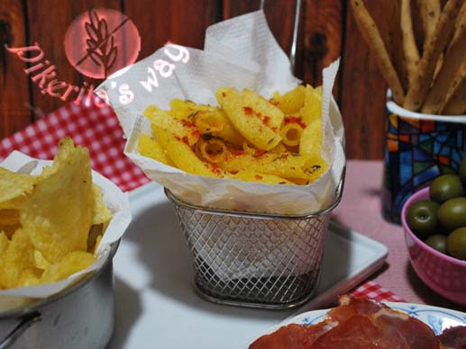 La historia de unos Macarrones #singluten fritos