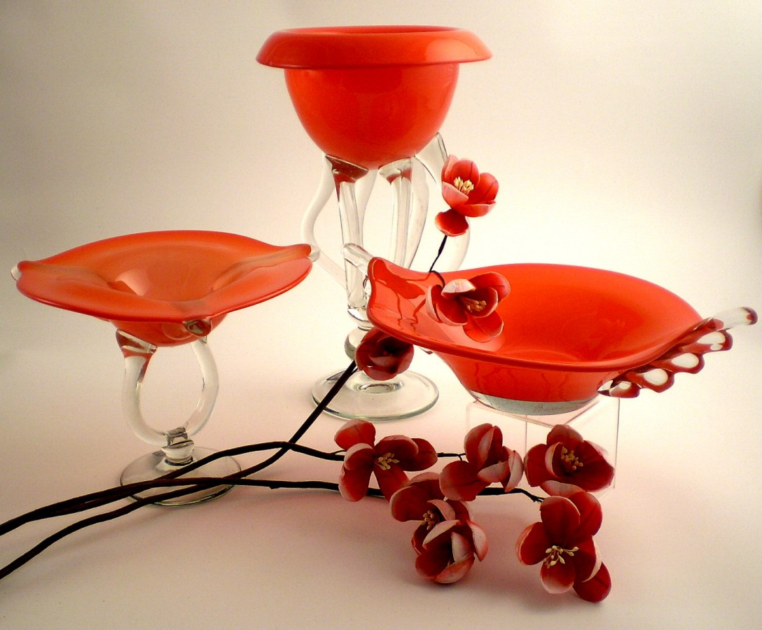 Glass Bowls Decorative Glass Vases