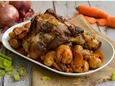 Συνταγή της Ημέρας: Κότσι χοιρινό
