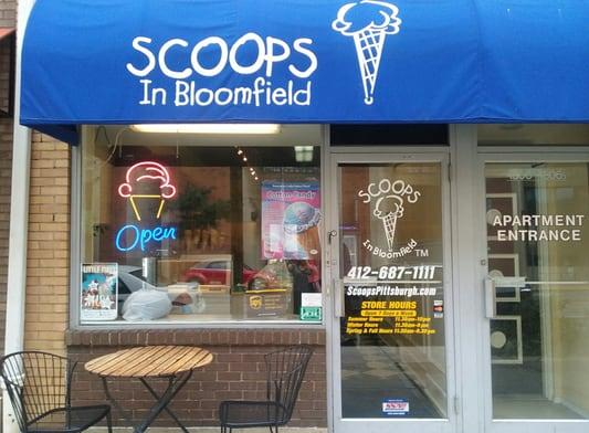 Scoops in Bloomfield in Pittsburgh, PA