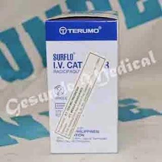 agen jarum infus terumo IV catheter 22g