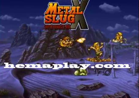 لعبة حرب الخليج metal brutal slug