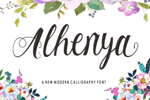 Alhenya Font