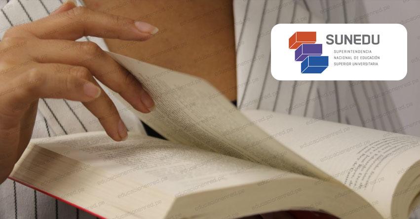 SUNEDU: Conoce la diferencia entre trabajo de investigación para bachiller y tesis para título profesional - www.sunedu.gob.pe