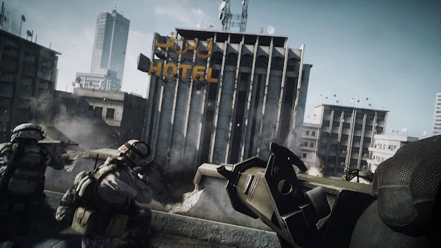 battlefield 3 screenshot of uprising