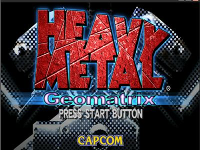 Heavy Metal Geomatrix Dreamcast ISO - Download Game PS1 PSP Roms