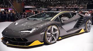 2016 Lamborghini Centenario Front view