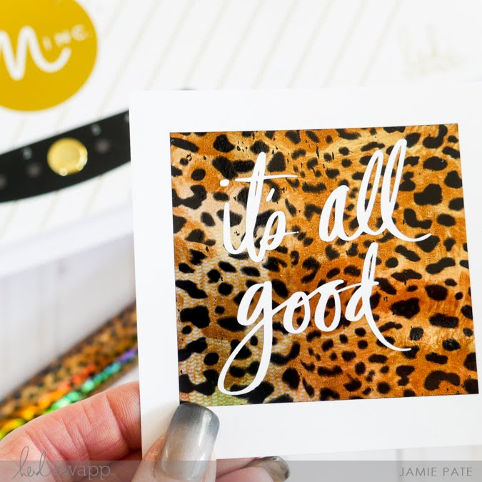 new Heidi Swapp Minc Foils + Unboxing Video by Jamie Pate | @jamiepate for @heidiswapp