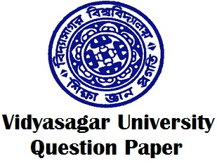 Vidyasagar University Old Question Paper Archives