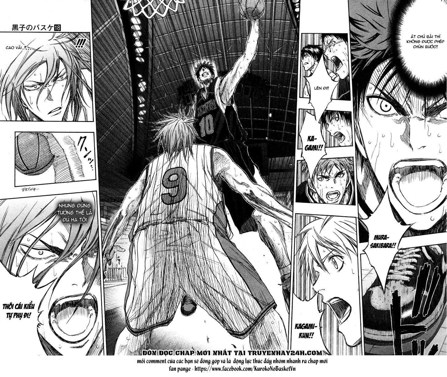 Kuroko No Basket chap 154 trang 9