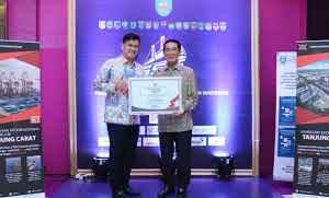 DPM-PTSP,raih predikat Terbaik II kategori penyelenggara PTSP Kabupaten/Kota Se-Sumatera Selatan