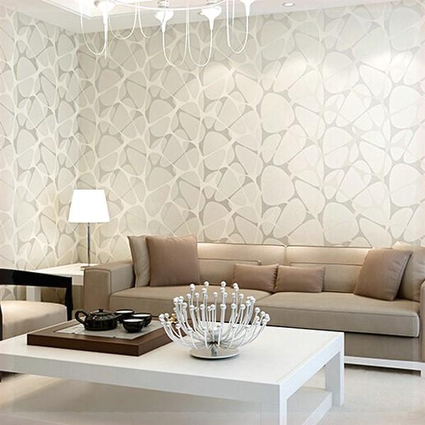 70 Contoh Motif Wallpaper Pilihan Untuk Ruang Tamu Rumahku Unik