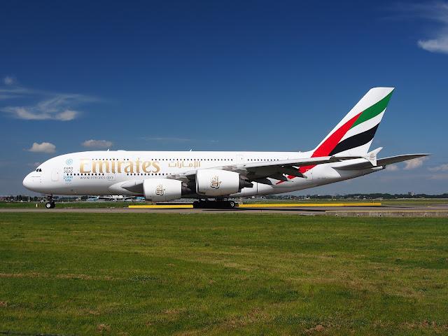 Emirates rute Oslo Dubai