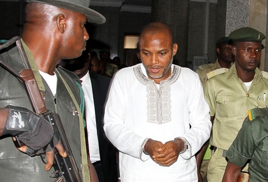 BREAKING: Southern Leaders Call On Buhari To Immediately Release Nnamdi Kanu, And Others