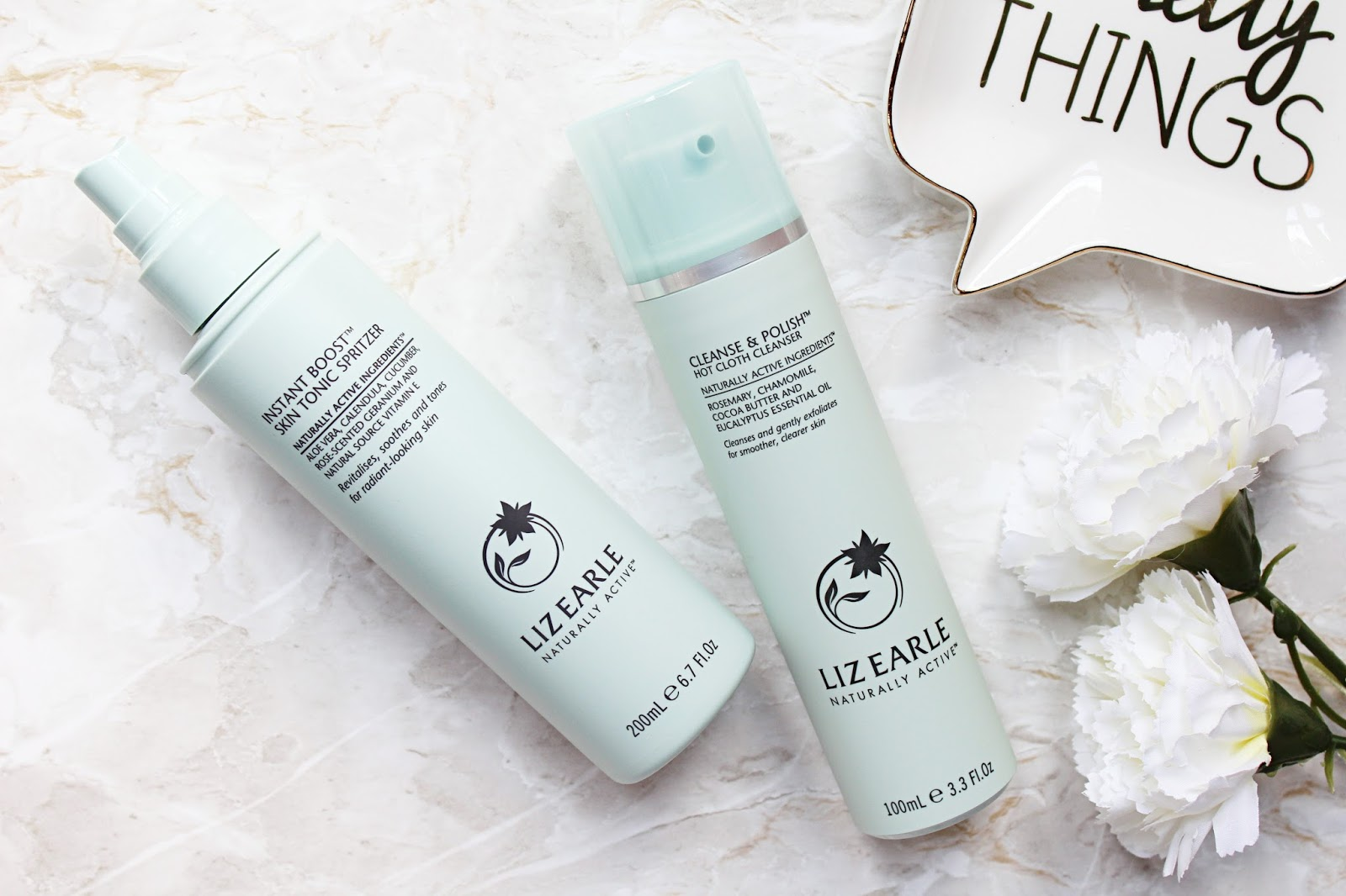 Liz Earle Skincare Favourites