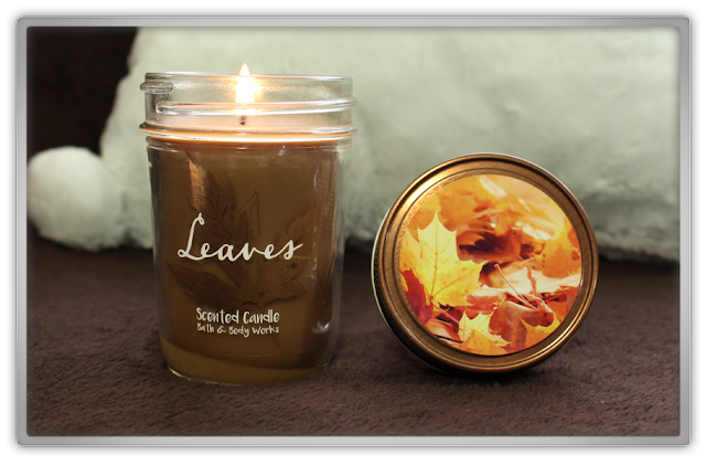 Bath and Body Works huge fall autumn Haul Review home fragrance BBW beauty blogger scented candle medium mason jar leaves cozy favorites