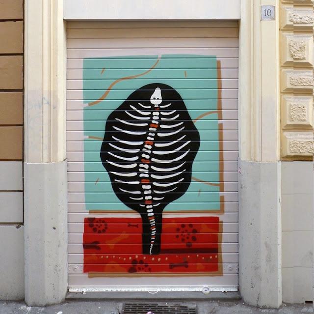 Уличный художник из Италии. Агостино Якурчи (Agostino Iacurci) 13