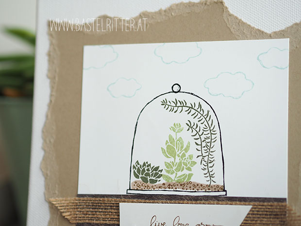 Live Love Grow Stampin' up! C'est la Schnipselritter Bastelritter