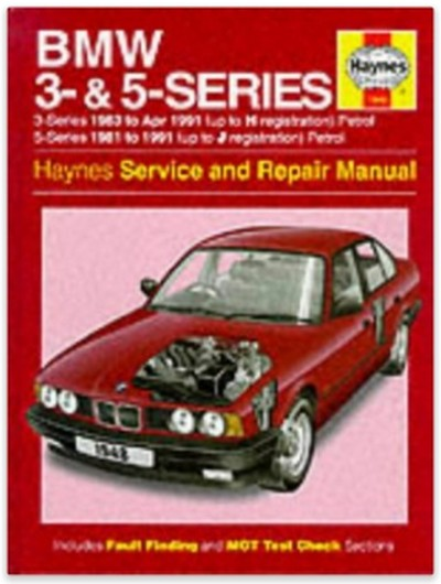 bmw 3 and 5 series service and repair manual haynes. Black Bedroom Furniture Sets. Home Design Ideas