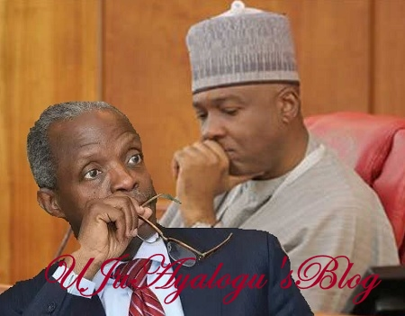 Osinbajo's Impeachment: Saraki, Senate Hope DASHED As 1999 Constitution States Otherwise