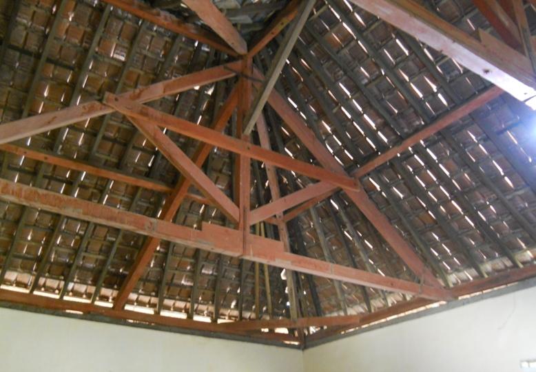 menghitung kebutuhan baja ringan atap jurai bagian rangka kayu untuk rumah tinggal sederhana