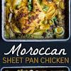 MOROCCAN SHEET PAN CHICKEN