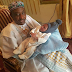 Lovely Photo of Emir Of Kano, Mohammed Sanusi ll And His Grandson