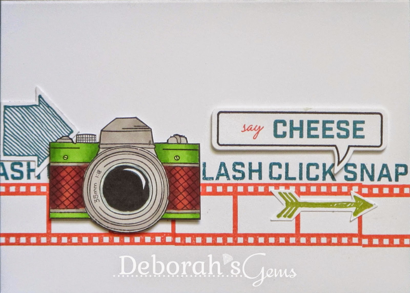 Say Cheese - photo by Deborah Frings - Deborah's Gems