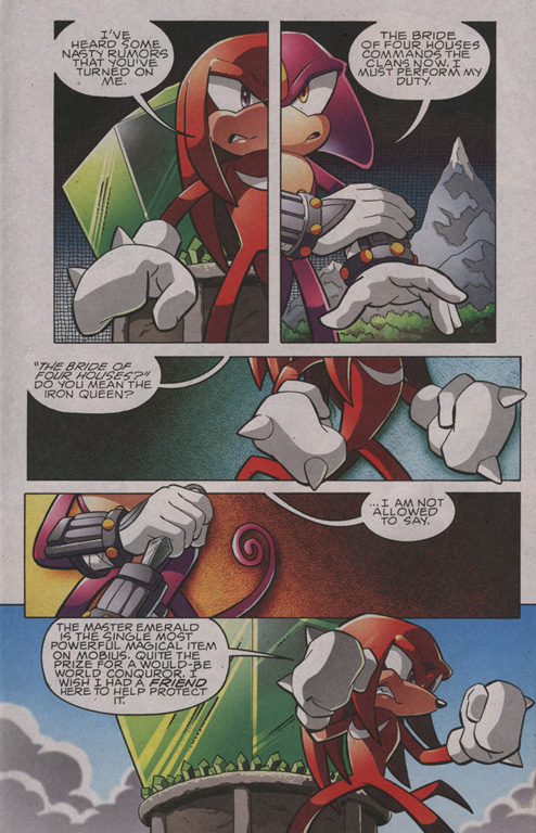 Read online Sonic The Hedgehog comic -  Issue #203 - 21