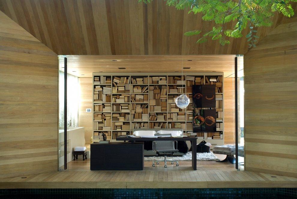 Mezzanine House Design Woods