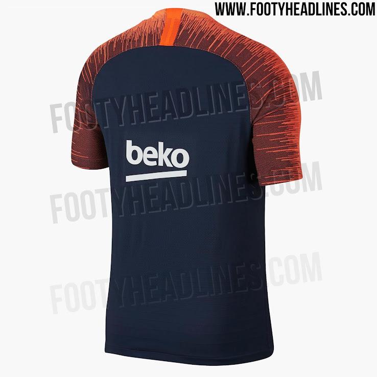 Ropa entrenamiento FC Barcelona 2018