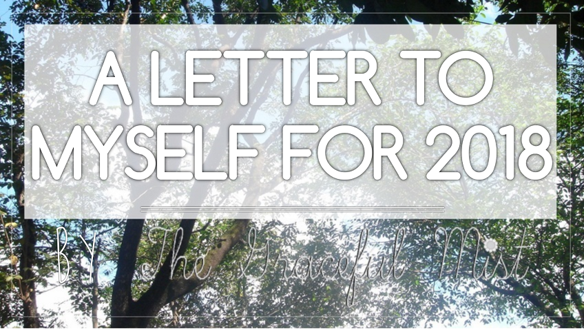 "Grace`s Open Book: ""A Letter to Myself for 2018"" 