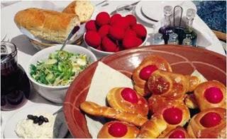 Ευχαριστηθείτε το Πασχαλινό τραπέζι και αποφύγετε την βαρυστομαχιά